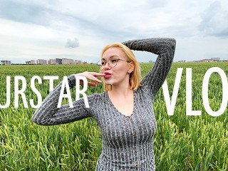 Влог 2 || Получила сперму на лицо в поле || Murstar