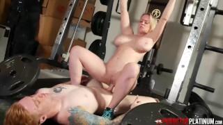 PORNSTARPLATINUM Dee Williams Fucked And Facial In The Gym