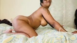 The Thick is Real ebony milf big ass tight hairy cunt!