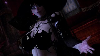 Skyrim heroine magician who becomes a sex slave of monsters