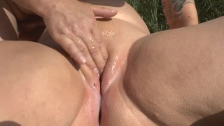 Squirting and fucking on the lake promo