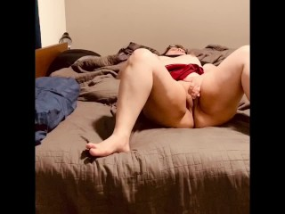 Milf back from teasing boss with skirt, pawg needs dick