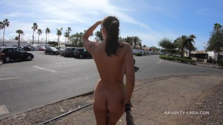 He left me alone naked in public