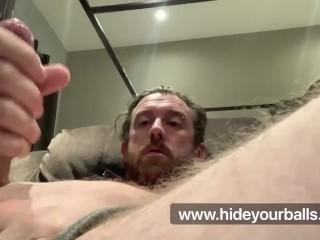 Hot Guy, Intense Cumshot
