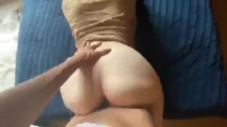 Girl gets fucked hard from behind