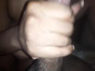 Sloppy deepthroat I cum she keep sucking (I love Her)