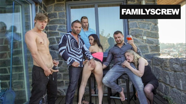 Family throws the Biggest Party