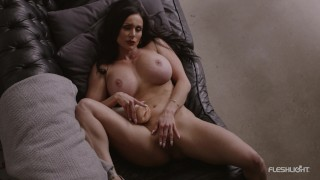 Kendra Lust Shows Off Her Big Breasts and Fingers Herself!!