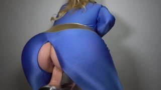 Fallout Vault Girl Tied Up And Fucked Fuck Machine Ballgagged Cosplay