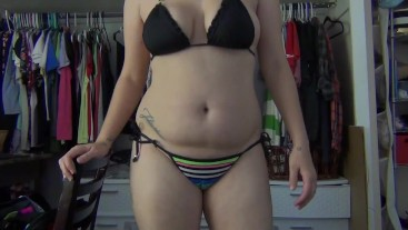 2020 Swimsuit Try Ons at My New Weight - Gain Girl - C4S Store 109926