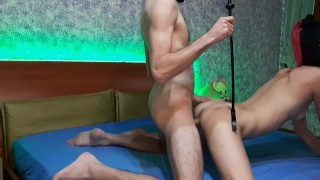 banging and slapping her nice ass