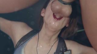 Jill Valentine Red Lipstick BJ [Bulging]