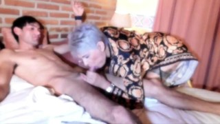 sucking on the gardener while my husband thinks I'm in the office, I inson my ass