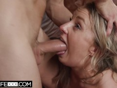 HotwifeXXX - Eager Shared Slutty Wife Loves Anal Ass To Mouth Facial