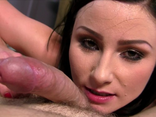 HOT SLUT gets naked before SUCKING and FUCKING with LOTS of DIRTY TALK and a HUGE FACIAL!