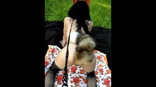 MASTER JAKE SHOWS OFF HIS SLUTTY PET FOX comodel: Bigbrotherdom (ONLYFANS:LITTLEFOXBRAT)