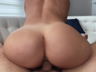 Teen is home alone and horny for the electrician