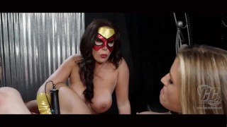 SPIDER LADY DYNA GIRL & ELECTRA WOMAN