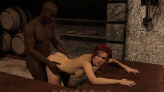 ERODIO:. Horny Widow Got Blacked Raw And Creampied-Ep 6