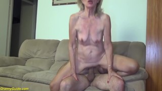 82 years old mom stepson fucked