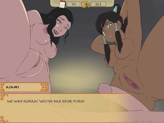 Four Element Trainer Part 87 Asami Makes My Mind Fly - Horny Korra By LoveSkySan69