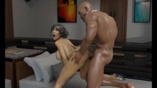 Angelica's Temptationr:Huge Monster BBC, Rough Pussy Pounding-Ep5
