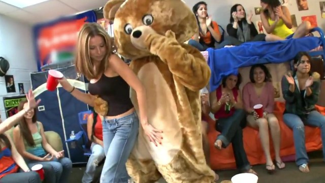 DANCING BEAR - What Happens When Male Strippers Invade A Dorm Room? Find Ou ...