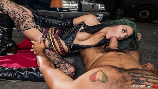Cosplay Girls Deep Throating Blowjobs Compilation In POV VR
