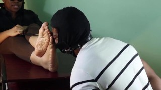 Preview-Sexy corrupt Agent Smelly Foot interrogation