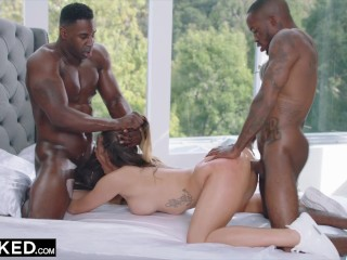 BLACKED -  Impulsive Brunette Couldn't Contain Her Desire