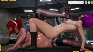 Sweet lesbians [3D Hentai, 4K, 60FPS, Uncensored]
