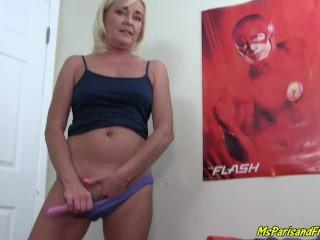Ms Paris Practices Her Squirting Technique anita blonde porn