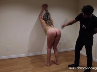 Hotwife Bondage sex slave and slut training orgasm denial and spanking | Daddyscowgirl