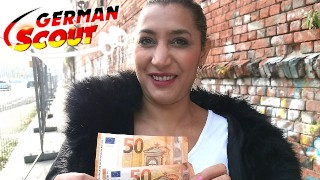 GERMAN SCOUT - CURVY STREET WHORE IN BERLIN TALK TO FUCK FIRST TIME IN PORN WITHOUT CONDOM