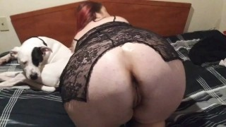 sexy midenite doing her thing