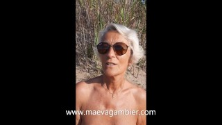 French Blonde Mature