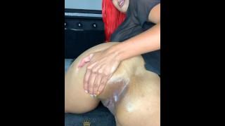 MissBNasty loves nut in her butt