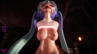 Girls in bondage lounge [3D Hentai, 4K, 60FPS, Uncensored]