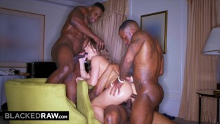 BLACKEDRAW Paige Owen's first time with 3 BBCs