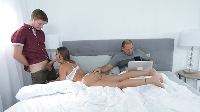 Family Strokes Fucking My New Stepmom While Dad Works Pornhub Com