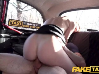 Fake Taxi Cute czech Redhead Charlie Red stripteases and fucks driver