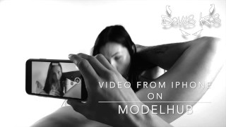 Domination blowjob! Sasha Rose! Video from Iphone on modelhub!