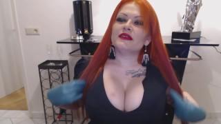 Big Titted Redhead Goddess