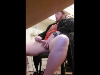 Stepbrother jerking off in his room