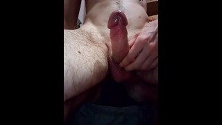 I jerk off while watching tight, wet pussy and big tits porn...