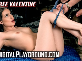 Digital Playground - Cheating Aubree Valentine gets face fucked and creampied