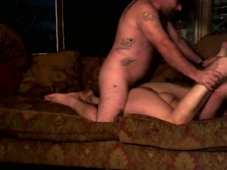 Sucking and deepthroating till he fucks me hard