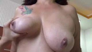 Mature latin lady wants stiff cock in her pussy, first time fuck on camera