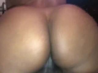 Big BOOTY Slut Makes BBC Cum in 2 mins!!! Sexy Creampie