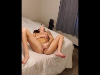 Hot Girl Masterbates Alone in Bedroom